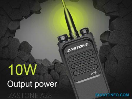 Zastone-A28-Walkie-Talkie-10-W-3800-mAh-UHF-400-480-MHz-Draagbare-twee-weg-Walkie